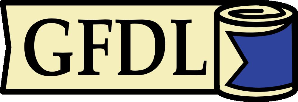GFDL logo